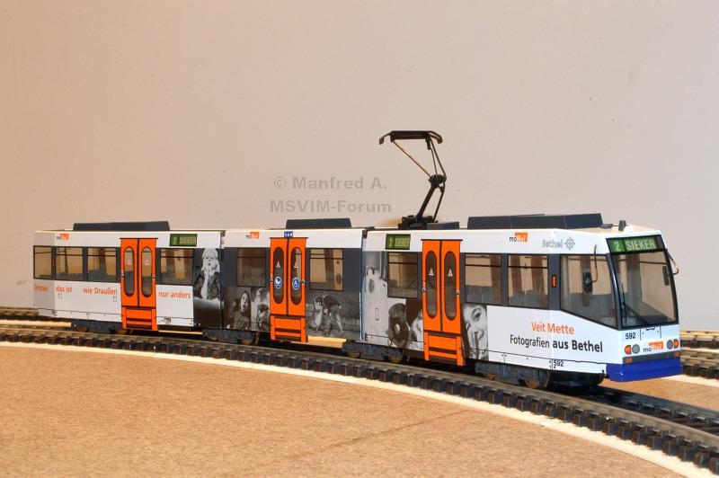 Bielefeld Mobiel M8d 592 Manfreds Stadtverkehr Im Modell Forum